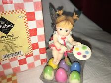 """My Little Kitchen Fairies """"EASTER ARTIST FAIRIE"""" 2008"""
