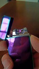 Windproof Plazma X Beam Lighter Purple NIB High Rate