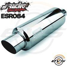Simoni Racing Marmitta Scarico Acciaio Inox Tonda Inclinata medium FIRE ESR084