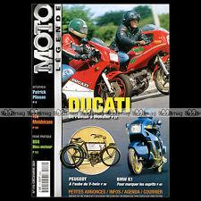 MOTO LEGENDE N°119-b MOTOBECANE Z54 C DUCATI 600 PANTAH BMW K1 GNOME RHONE BPS