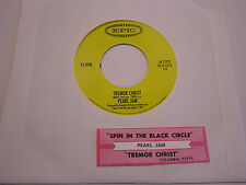 Pearl Jam Spin The Black Circle/Tremor Christ 45 RPM Epic Records EX