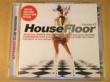 2 CD / HOUSE FLOOR VOL 1 / EXTENDED CLUB VERSIONS /NEUF SOUS CELLO