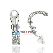 Fashion Jewellery Use Shinning Swarovski Crystal Clip on Earrings For Women