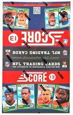 2013 Score Football Box 36 Packs 12 Cards Per Pack