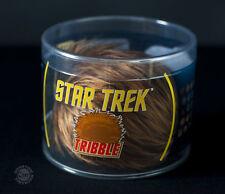 Star Trek Brown Tribble Plush made by Quantum Mechanix Brand NEW