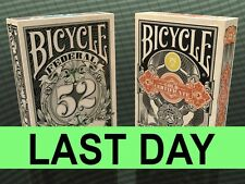 Bicycle Federal 52 & Gold Certificate Playing Cards Decks Sale Rare New Sealed