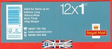 Mf6 2012 Diamond Jubilee 12 x 1st Class Security Stamp Booklet