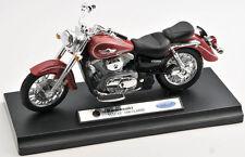 Blitz envío Kawasaki Vulcan 1500 classic red 1:18 Welly moto modelo nuevo
