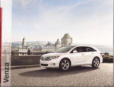 2012 12 Toyota Venza oiginal sales brochure MINT