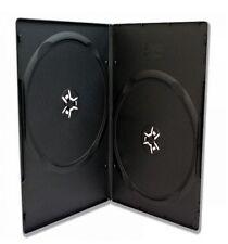 50 x 9mm 2X BOX DVD 2 SLIM WRAP BLU-RAY CASE FILM MUSIC VIDEO EMPTY COVER