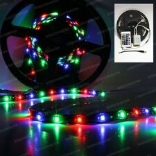5m RGB 3528 SMD LED 300 LEDs Waterproof Flexible Light Strip w/ IR Remote 24 Key
