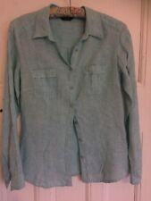 Marks & Spencer Linen Shirt Size 10