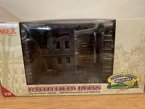 IMEX 1:72 Perma-Scene Battlefield Ruins Bombed Out Building  (IMX6508)