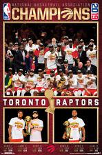 Toronto Raptors NBA CHAMPIONS 2019 COURT CELEBRATION Commemorative POSTER