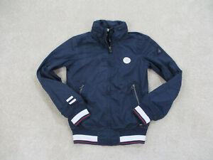 Gaastra Jacket Adult Small Blue White Full Zip Sailing Coat Casual Mens