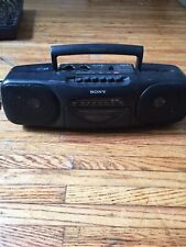 Sony Cfs-B11 Stereo Cassette Deck Am/Fm Stereo Tape Player Not Working