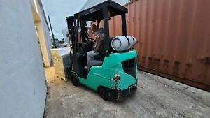 MITSUBISHI LP FORKLIFT 3000lB  SIDE SHIFTER! ONLY 1100 HOURS!!!