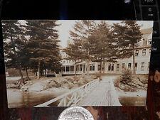 SPOFFORD NH - RPPC - PINE GROVE SPRINGS HOTEL - UNUSED REAL PHOTO POSTCARD