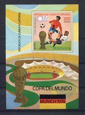 s5159) GUINEA ECUATORIAL 1974 MNH** WC Football -Coppa Mondo Calcio S/S IMPERF