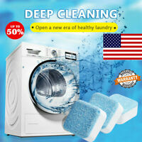 30/50PC BacBuster Kitchen Washer Sink Cleaning Tablets Washing Machine Cleaner
