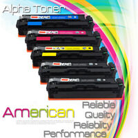 5-PACK Compatible 045 Toner Cartridge SET for Canon MF634Cdw MF632Cdw LBP612Cdw