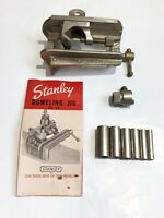 Stanley No.59 Doweling Jig w/ Guides & Manual Woodworking Tool Made In USA