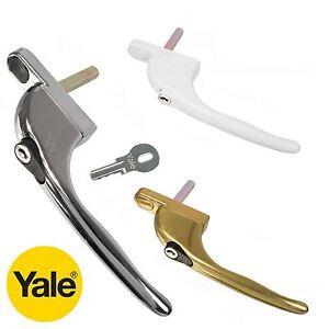 Yale UPVC Window Handle Inline Universal Locking Espag Lock Double Glazing PVC
