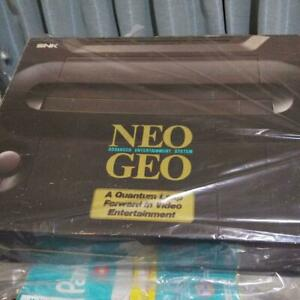 SNK Neo Geo Console System Made in Japan Great Condition w/BOX  - Working AC100V