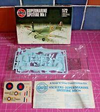 Kit Plástico Vintage 1:72. Airfix Spitfire Mk1. 9-61071. publica Gratis a la dirección de Reino Unido