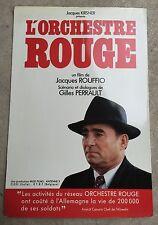 Dossier de Presse L'ORCHESTRE ROUGE Jacques Ruffio CLAUDE BRASSEUR *b