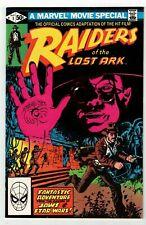 RAIDERS OF THE LOST ARK #1 (VF/NM) Indiana Jones! 1981 Marvel Movie Adaption