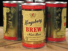 * Kingsbury Brew*Kingsbury Breweries,Div Of G.Heileman. (Flat Top)