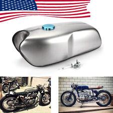 Universal US Ship Cafe Racer 9L/ 2.4 Gallon Gas Fuel Tank for Honda Yamaha BMW