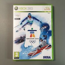 Vancouver 2010 Winter Olympiade Xbox 360 mit Anleitung-near mint disc-Free p&p