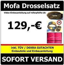 Mofadrossel 25 PEUGEOT Jetforce  FIN: VGAA1AAAA... Drossel inkl.Tüv-Gutachten