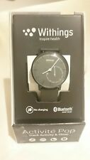 Withings Activité Pop Activity & Sleep-Tracking Watch Shark Grey unworn FASTP&P