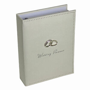 Amore Wedding Planner Diary Organiser Book - Cream Suedette Cover WG293