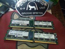 4GB 4x1GB Crucial PC-3200 DDR-400 184-Pin Desktop Memory RAM
