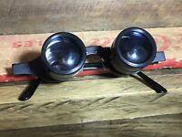 VINTAGE SPORTIERE 2.8 X 2.8 COATED OPERA EYE GLASS BINOCULARS