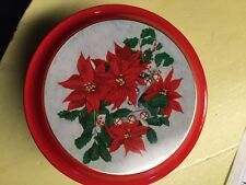 "vintage collectible Meister 5"" Christmas cookie tin"