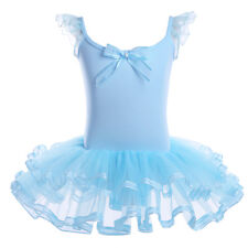 Tutu Child Girls Ballet Dancing Leotard Dress Kids Ballerina Dancewear Costumes