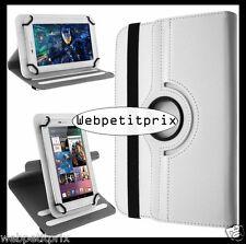 Mocca Design MDUNIV7 Etui Universel 360° pour Tablette  7/8'' Blanc