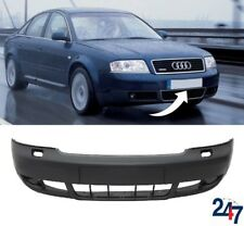NEW AUDI A6 C5 2002 - 2005 FRONT BUMPER WITH HEADLIGHT WASHER HOLES 4B0807103BL
