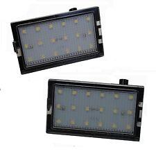 2xLED Rear Number plate light upgrade SMD licence lamp unit for Freelander 2 LR2