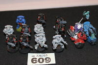 Games Workshop Warhammer 40k Space Marines Tactical Squad and Bikes Job Lot Army