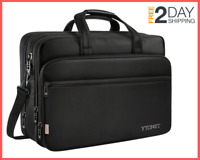 17 inch Laptop Travel Business Briefcases, Water Resisatant, Expandable capacity