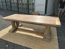 Oka 10 seater oak dining table