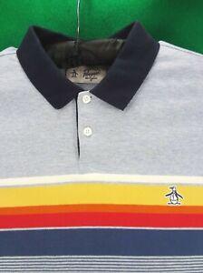 Penguin by Munsingwear LARGE polo golf shirt L