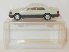 MICRO WIKING HO 1/87 MERCEDES BENZ 300 CE COUPE GRIS CLAIR #13143 IN BOX