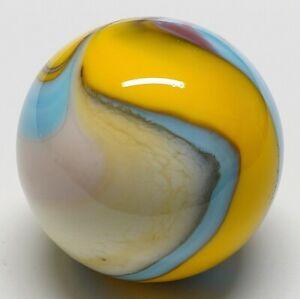"Winlock Marbles ~ Handmade Glass Marbles ~ Lampwork Art Marble ~ 27/32"""